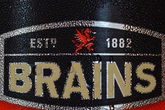 Printed Word - For those with Brains... (SophsPixs) Tags: condensation cold bottle beer printedword macromondays