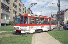 1996-06-04 Cottbus Tramway Nr.69 (beranekp) Tags: germany deutschland cottbus tramvaj tram tramway tranvia strassenbahn šalina elektrika električka 69