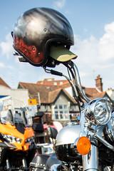 Poole Bike Night-Crash Helmet (Caught On Digital) Tags: bikemeet bikers choppers crashhelmet custom dorset motorbikes motorcycles poole