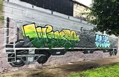 Meta Crew (wiredforlego) Tags: graffiti mural streetart urbanart aerosolart illegalart publicart train ferromex jalisco guadalajara mexico gdl metacrew