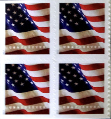 USA Forever (Dick Thompson Sandian) Tags: macromondays printedword stamppostageaspiration albuquerque nm usa