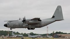 C-130 | MM62181 | FFD | 20190722 (Wally.H) Tags: lockheed l100 hercules c130 mm62181 4646 aeronauticamilitareitaliana italianairforce ffd egva fairford airport