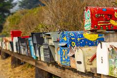 Mailboxes near Muir Beach (harald152) Tags: millvalley kalifornien vereinigtestaaten mailbox muirbeach california briefkasten sanfrancisco bayarea canoneos550