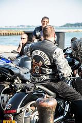 Poole Bike Night-Satans Slaves (Caught On Digital) Tags: bikemeet bikers choppers custom dorset motorbikes motorcycles poole