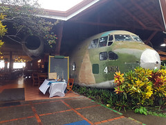 C-123 restaurant (Rob Schleiffert) Tags: fairchild c123 provider irancontra 54663 manuelantonio quepos