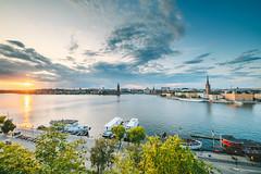 Sunset panorama | Stockholm, Sweden #219/365 (A. Aleksandravičius) Tags: sunset panorama stockholm sweden wide blue angle nikon z7 nikonz7 mirrorless irix 11mm irix11mmf4 irix11mm 2019 365one 365days 3652019 365 project365 219365 irixlens irix11