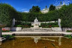 Vienna Wien - Sisi Monument (Oliver Kuehne) Tags: vienna wien austria sonyrx100m2 april 2019 elisabethvonösterreich sisi empresselisabethofaustria monument volksgarten