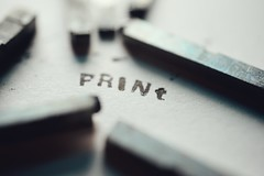 Word (orbed) Tags: printedword macromondays type print word paper