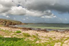Playa Escondida, Vieques, Puerto Rico (Jorge Rodriguez) Tags: caribe puerto rico vieques playa panorámica nubes isla