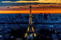 Eiffel Tower (Alvaro Almeida (read my profile)) Tags: eiffeltower eiffel paris france montparnase sony night nightshot torreeiffel