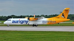 G-COBO (AnDyMHoLdEn) Tags: aurigny atr egcc airport manchester manchesterairport 23l