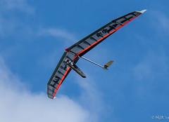 Hang gliding at Rhossili (H.G.R) Tags: gower nationaltrust rhossili wales hangglider swansea unitedkingdom