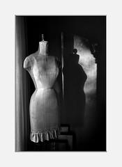Mannequin (The LightCatcher) Tags: blackandwhite bw monochrome mannequin tones shades canon 7d