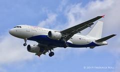 Air Malta A319 ~ 9H-AEJ (© Freddie) Tags: heathrow hounslow lhr cranford londonheathrow egll 27r fjroll ©freddie arrival27r airbus a319 airmalta 9haej