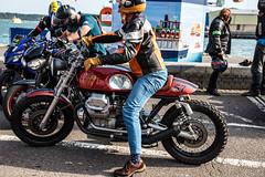 Poole Bike Night-Moto Guzzi (Caught On Digital) Tags: bikemeet bikers choppers custom dorset motoguzzi motorbikes motorcycles poole