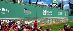 Fenway Park August 11, 2019 Green Monster (bpephin) Tags: wall greenmonster green mlb baseball boston bostonredsox redsox sox signs fenway