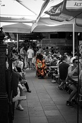Floral (michael.forbes22) Tags: xseries xt1 fuji fujifilm 50mm 35mm voyer beer happyhour bar dc washington streetphotographer streetphotography woman