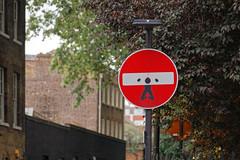 Cet Abraham (OliveTruxi (2 Million views Thks!)) Tags: abraham arturbain clet london londres streetart urbanart wallart england