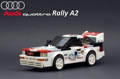 01 Front 3_4 Left (Marc 'Edge' R.unde) Tags: audi quattro rally a2 urquattro ur lego speed champions
