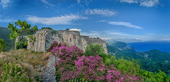 τῆς σωτηρίας τεῖχος ἀκράδαντον, (Dimitil) Tags: 1821 castle epirus greece hellas turkishdomination turkishoccupation architecture beach building clouds construction dramaticsky flowers foliage fortress greecsummer greektradition hiistoricplace historicbuilding historicmonument historicplace historicalbuildings historicalmonument historicalplace history misty ottomanoccupation panorama sea seaseascape seaview sky stone stonebuildings stonebuilt summer tourism tradition traditionalarchitecrure traditionalbuildings trees vegetation view water