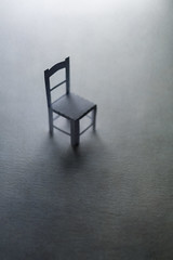 all alone... (CatMacBride) Tags: papercraft paper chair alone