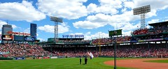 Fenway Park August 11, 2019 (bpephin) Tags: fenway baseball mlb boston bostonredsox redsox sox usa clouds sky sunny flag