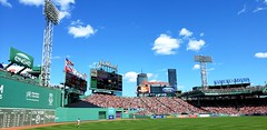 Fenway Park August 11, 2019 (bpephin) Tags: flags americanflag usa baseball mlb fenway boston redsox sox trout 2018