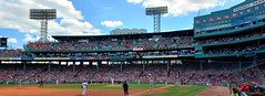 Fenway Park, Trout on 3rd (bpephin) Tags: trout angels boston redsox sox mlb baseball devers fenway
