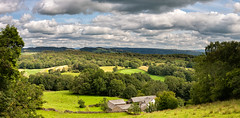 12th August 2019 (Rob Sutherland) Tags: littlehartbarrow cartmelfell south cumbria lakes lakeland lakedistrict nationalpark ldnp farm farmland farming agriculture building house barn landscape cumbrian traditional rural uk england english britain british woodland wooded wood tree green pastoral view scenic