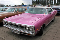 The Pink Beast (Schwanzus_Longus) Tags: bremen german germany us usa america american old classic vintage car vehicle cabrio cabriolet convertible dodge polara 500 pink beast