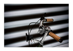 bicycle bell (Armin Fuchs) Tags: arminfuchs lavillelaplusdangereuse bicycle stripes diagonal bell