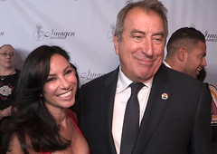 2019 Imagen Foundation Awards with Kenny Ortega and Louanne Madorma