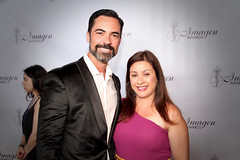 2019 Imagen Foundation Awards with Danny Pino and wife Lily