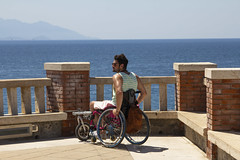 Explore (richman_pix) Tags: explore explorer mare sea piombino tuscany italy italia view wheelchair stricker lomo inclusion
