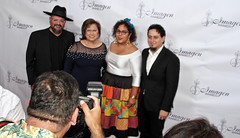 2019 Imagen Foundation Awards with La Santa Cecilia