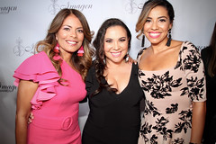 2019 Imagen Foundation Awards with Lisa Vidal,  Gloria Calderon Kellett and Christina Vidal