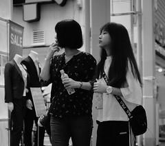 Mother and daughter (Bill Morgan) Tags: fujifilm fuji xpro2 35mm f14 bw alienskin exposurex45 jpeg acros
