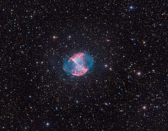 M27 - Dumbbell Nebula (2nd Try) LRGBH (philippeoros) Tags: astrophoto dumbbell nebula m27 deep sky astronomy lrgbha astrophotography astronomie astrophysics astrometrydotnet:id=nova3620437 astrometrydotnet:status=solved