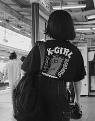 X-Girl (Bill Morgan) Tags: fujifilm fuji xpro2 35mm f14 bw alienskin exposurex45 jpeg acros