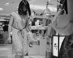 Summer dress (Bill Morgan) Tags: fujifilm fuji xpro2 35mm f14 bw alienskin exposurex45 jpeg acros