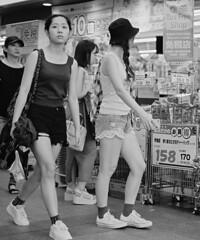 Shorts (Bill Morgan) Tags: fujifilm fuji xpro2 35mm f14 bw alienskin exposurex45 jpeg acros