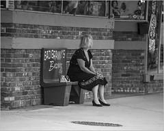 Happy Bench Monday & Happy Monochrome Monday (A Anderson Photography, over 3.8 million views) Tags: street bw bench canon abadgranny mono monochrome hbm hmm