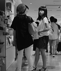 Shopping discussion (Bill Morgan) Tags: fujifilm fuji xpro2 35mm f14 bw alienskin exposurex45 jpeg acros