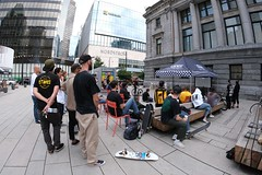 premier (VIVA_Vancouver) Tags: vivavancouver cityofvancouver vancouverskateboardcoalition šxʷƛ̓ənəqxwtle7énḵsquare vancouverartgallery robsonsquare vancouverbc downtownvancouver undertoeskateboardacademy skateboard skate