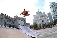 dallas (VIVA_Vancouver) Tags: vivavancouver cityofvancouver vancouverskateboardcoalition šxʷƛ̓ənəqxwtle7énḵsquare vancouverartgallery robsonsquare vancouverbc downtownvancouver undertoeskateboardacademy skateboard skate