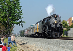 Turning Out for Steam (GRNDMND) Tags: trains railroads steam locomotive 484 northern santafe atsf 3751 metrolink claremont california