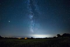 Milky Wheat (Matt Molloy) Tags: nature night sky colorful stars milkyway galaxy mars trees wheat field countryside landscape skyscape seeleysbay leedsandthethousandislands ontario canada explorecanada exploreontario mattmolloy photography canon outdoors
