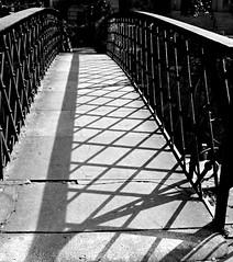 Bridge Lines (explored) (pjpink) Tags: bridge ironwork shadows blackandwhite bw monochrome factorswalk historic savannah georgia ga april 2019 spring pjpink 2catswithcameras