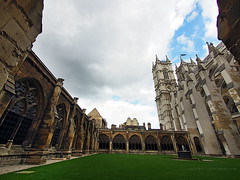 Westminster Abbey (Steve only) Tags: olympus pen ep5 panasonic lumix g vario 14714 asph 7144 714mm f4 m43 snap landscape westminster abbey england london sky cloud