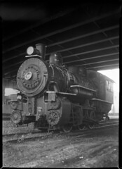 36 NEW YORK CENTRAL 0-6-0 type Steam Locomotive, 6721, Utica, NY (Sergei Prischep) Tags: 5x7 film improvedseneca viewcamera carlzeiss f45 210mm drp tessar thorntonpickard woodenshutter xrayfilm largeformat 060